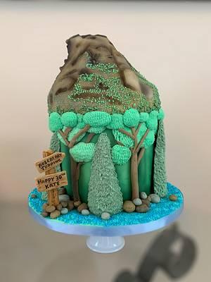 Roseberry Topping Cake - Cake by Charlotte