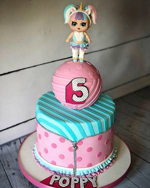 LOL surprise cake - Cake by Maria-Louise Cakes