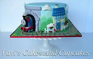 Luke's 1st Birthday Cake - Cake by Vavijana Velkov