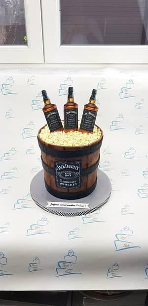 Jack daniels cake - Cake by Zuzi's cake