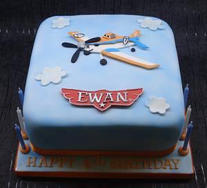 Disney Planes cake - Cake by That Cake Lady