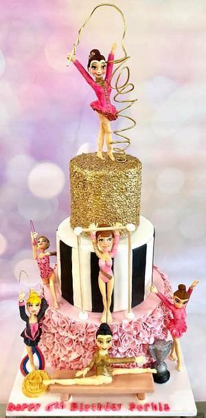 Gymnasts  - Cake by Tiers of joy