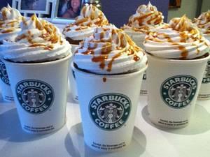 Starbucks cupcakes - Cake by CakeDreams