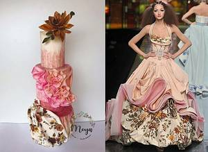 Couture Cakers 2018 - Cake by Branka Vukcevic