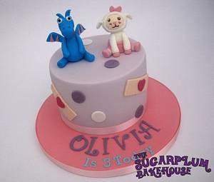Simple Doc McStuffins Cake - Cake by Sam Harrison