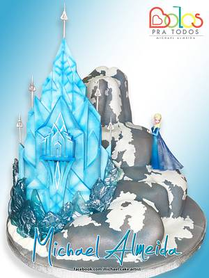 Ice Palace - Cake by Michael Almeida