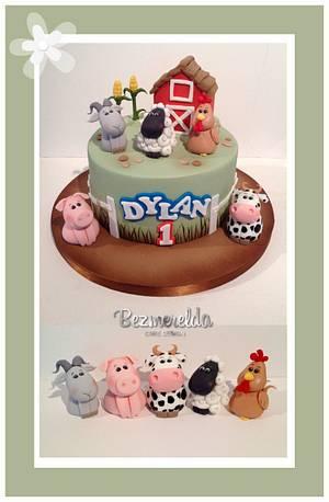 Farmyard Cake  - Cake by Bezmerelda