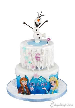 Frozen Icicle Cake - Cake by SugarMagicCakes (Christine)
