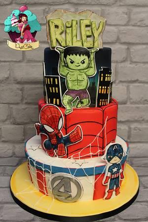 Baby Marvel - Cake by DusiCake