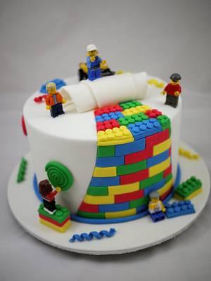 Lego Cake - Cake by Lydia Evans