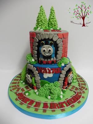 Thomas the Tank Engine - Cake by Blossom Dream Cakes - Angela Morris