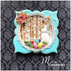"""Easter Cookie Card - Cake by Nadia """"My Little Bakery"""""""