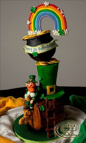 St. Patrick's day - Cake by Komel Crowley