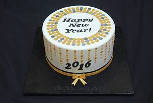 Happy New Year 2016 - Cake by The Chain Lane Cake Co.