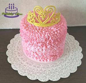 Frilly princess cake - Cake by Mommade Cakes