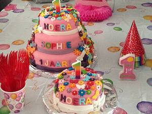 Sophie's 1st birtday cake - Cake by Sophie's Bakery
