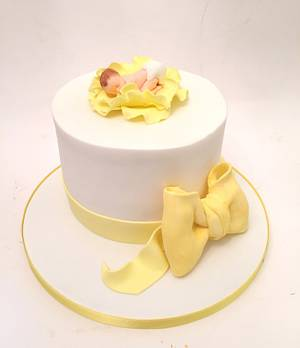 Baby Shower Cake - Cake by Claire Lawrence