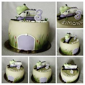 Chuggington train - Cake by Anka