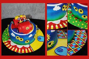 The Wiggles - Cake by Trickycakes