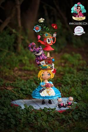 Urban Alice in Wonderland! - Cake by DusiCake