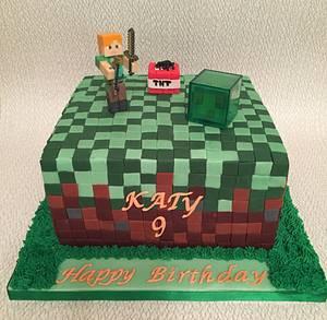 Minecraft for Katy - Cake by Roberta