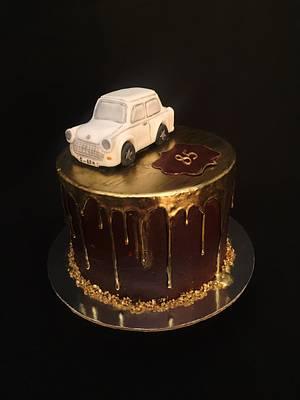 Trabant car cake - Cake by Layla A