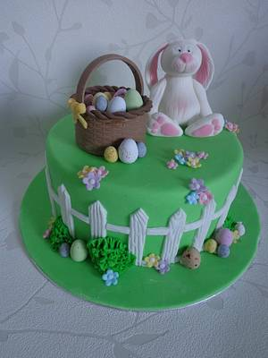 Easter Bunny Cake - Cake by Zoe White