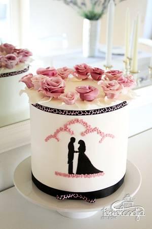 Wedding cake - Cake by Tortolandija
