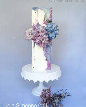Ortensie - Cake by Lucia Simeone