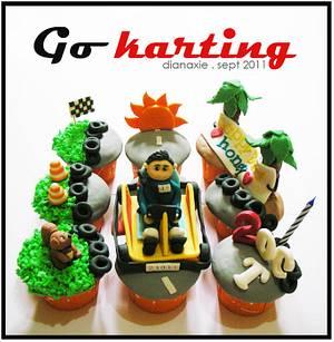 Go Karting - Cake by Diana