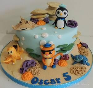 Octonauts - Cake by Shereen