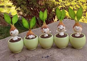 Spring bulbs cupcakes - Cake by Snezana