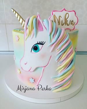 Unicorn - Cake by Tortebymirjana