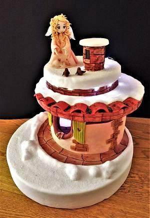 Il Natale del pastorello - Children´s Classic book Sweet Collaboration - Cake by Clara