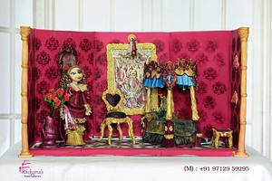 Victorian Dollhouse (In collaboration with Caker Buddies) - Cake by Rachana