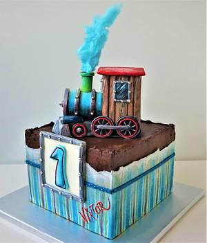 toy train - Cake by Torty Zeiko