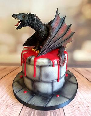 Mother of Sugar Dragons - Cake by Kerry Smith