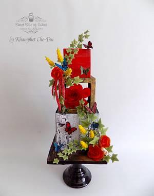 Secret Garden @The Flutter Collaboration  - Cake by Sweet Side of Cakes by Khamphet