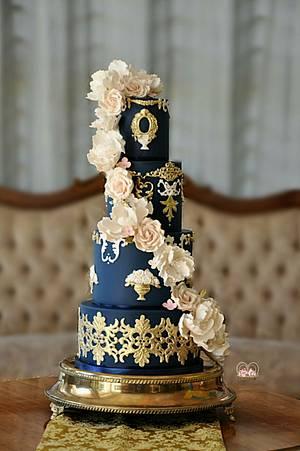 Royal & Regal  - Cake by Sumaiya Omar - The Cake Duchess