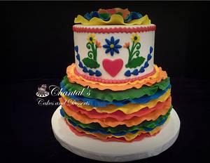 Fiesta Cake - Cake by Chantal Fairbourn