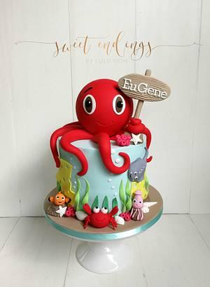 Under the Sea! - Cake by Lulu Goh