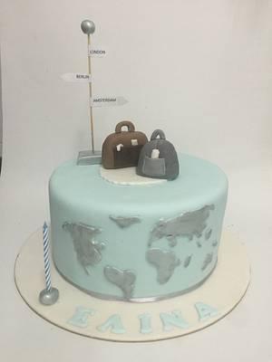 Travel cake - Cake by Vanilla bean cakes