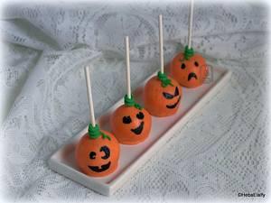 Cake Pop Pumpkins! - Cake by Sweet Dreams by Heba