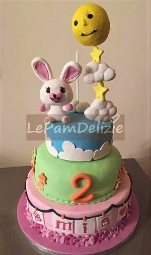 Mofy cake  - Cake by Le Pam Delizie