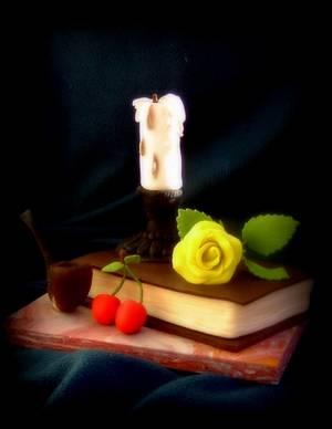 Still life - Cake by Ildikó Dudek