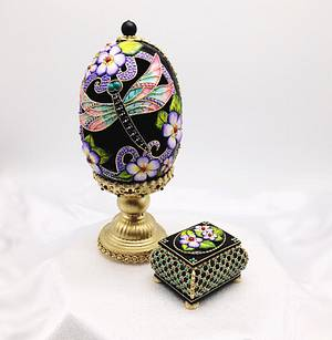 3D Cookie Faberge egg composition - Cake by Sveta