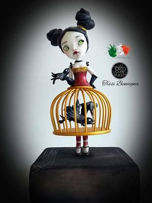 Italian Sugar Dream collaboration - my Sheryl  - Cake by Tissì Benvegna