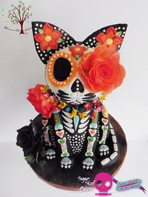Sugar Skull Bakers Collaboration 2015  - Cake by Blossom Dream Cakes - Angela Morris