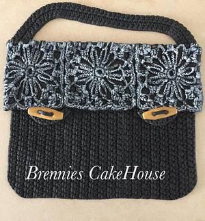 crochetted bag - Cake by Brenda Bakker