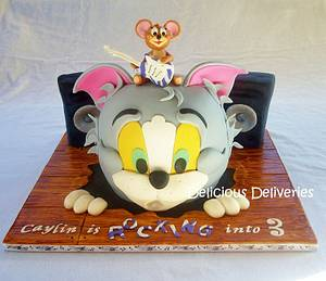 Rocking Tom and Jerry Cake - Cake by DeliciousDeliveries